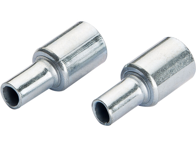CAMPZ End Caps for glass fibre poles 11mm Set of 2 silber
